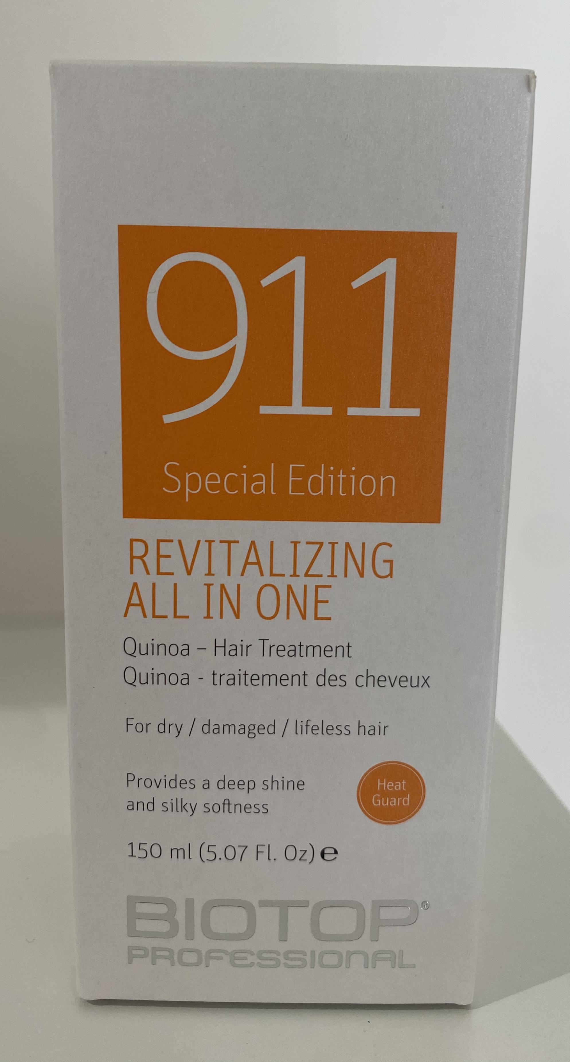 911 Revitalizing Quinoa Hair Treatment