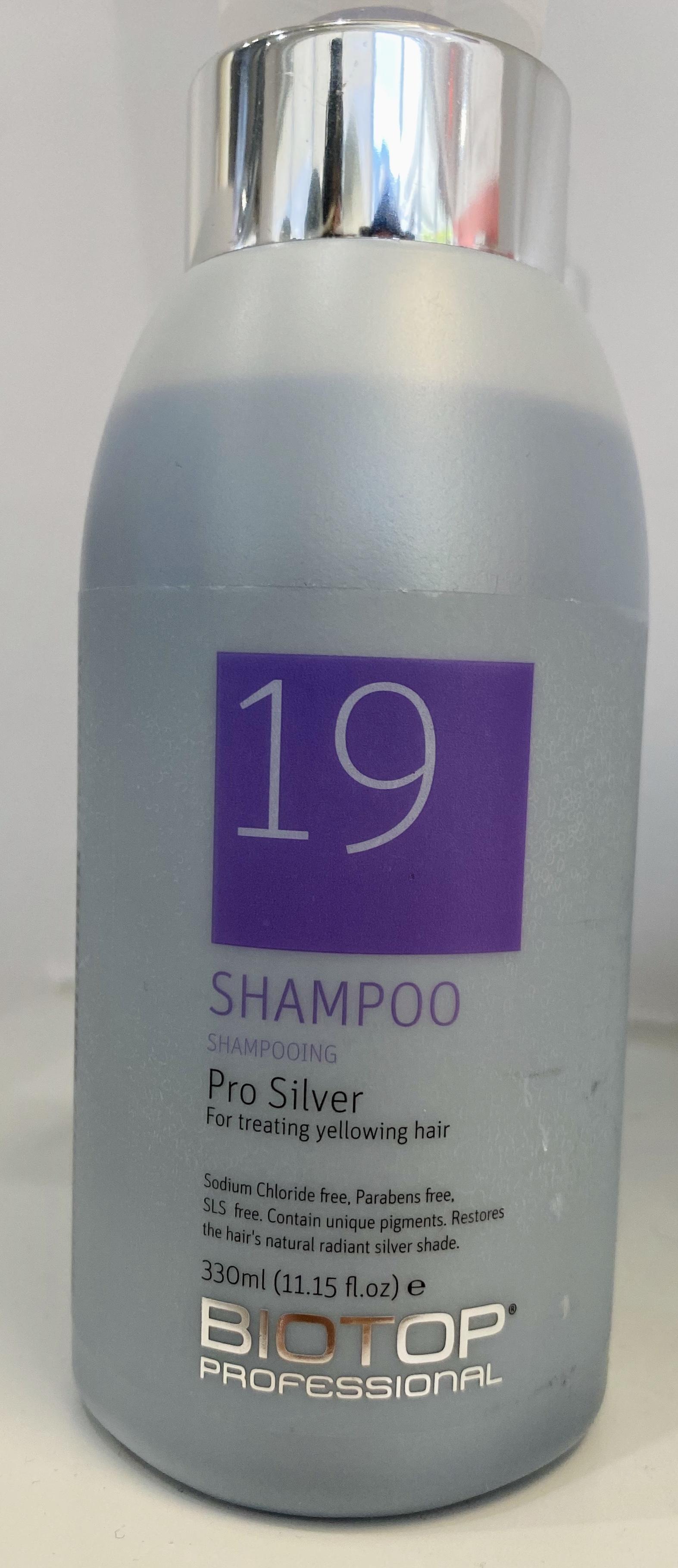 19 Pro Silver Shampoo