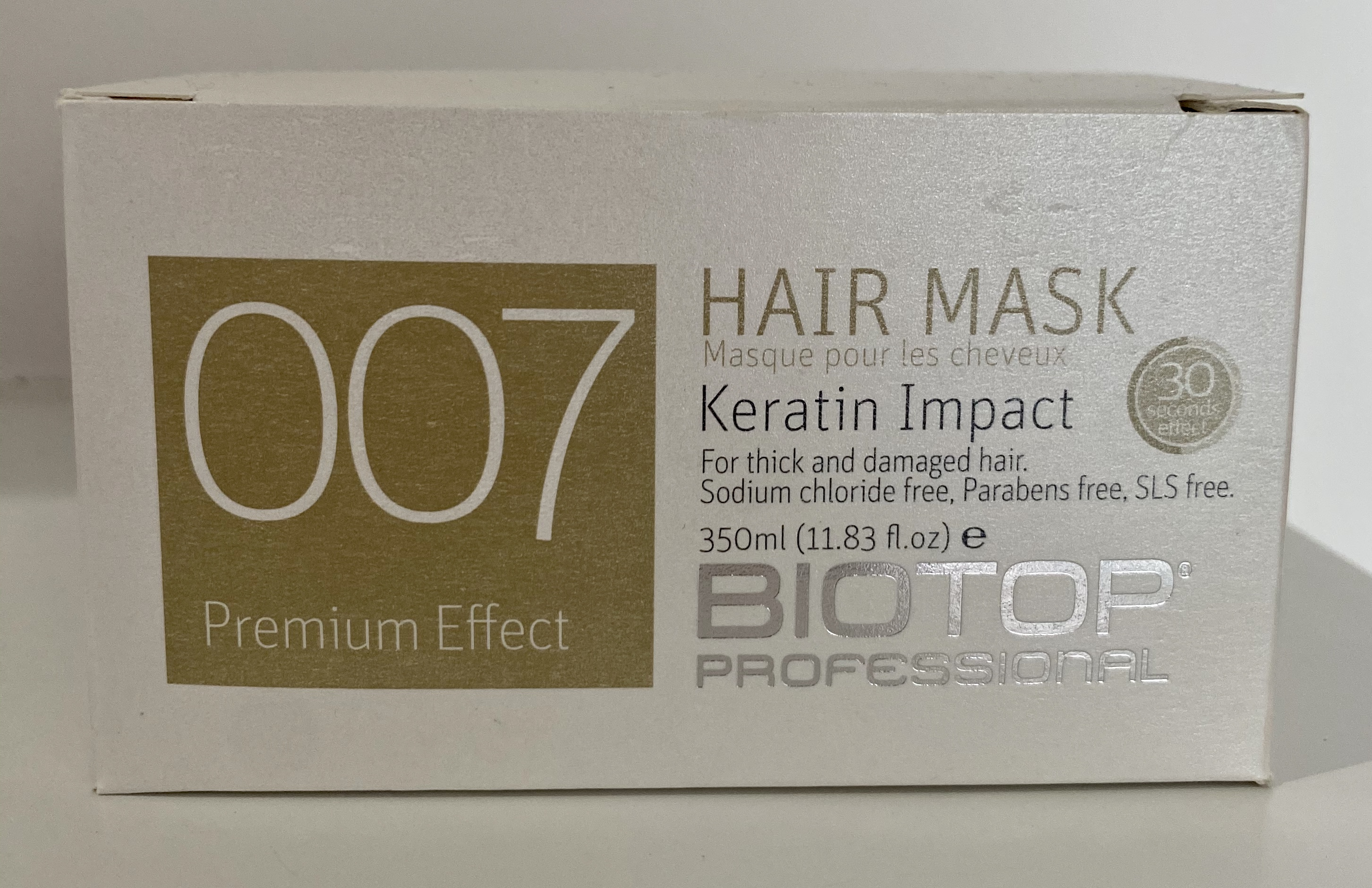 007 Keratin Hair Mask