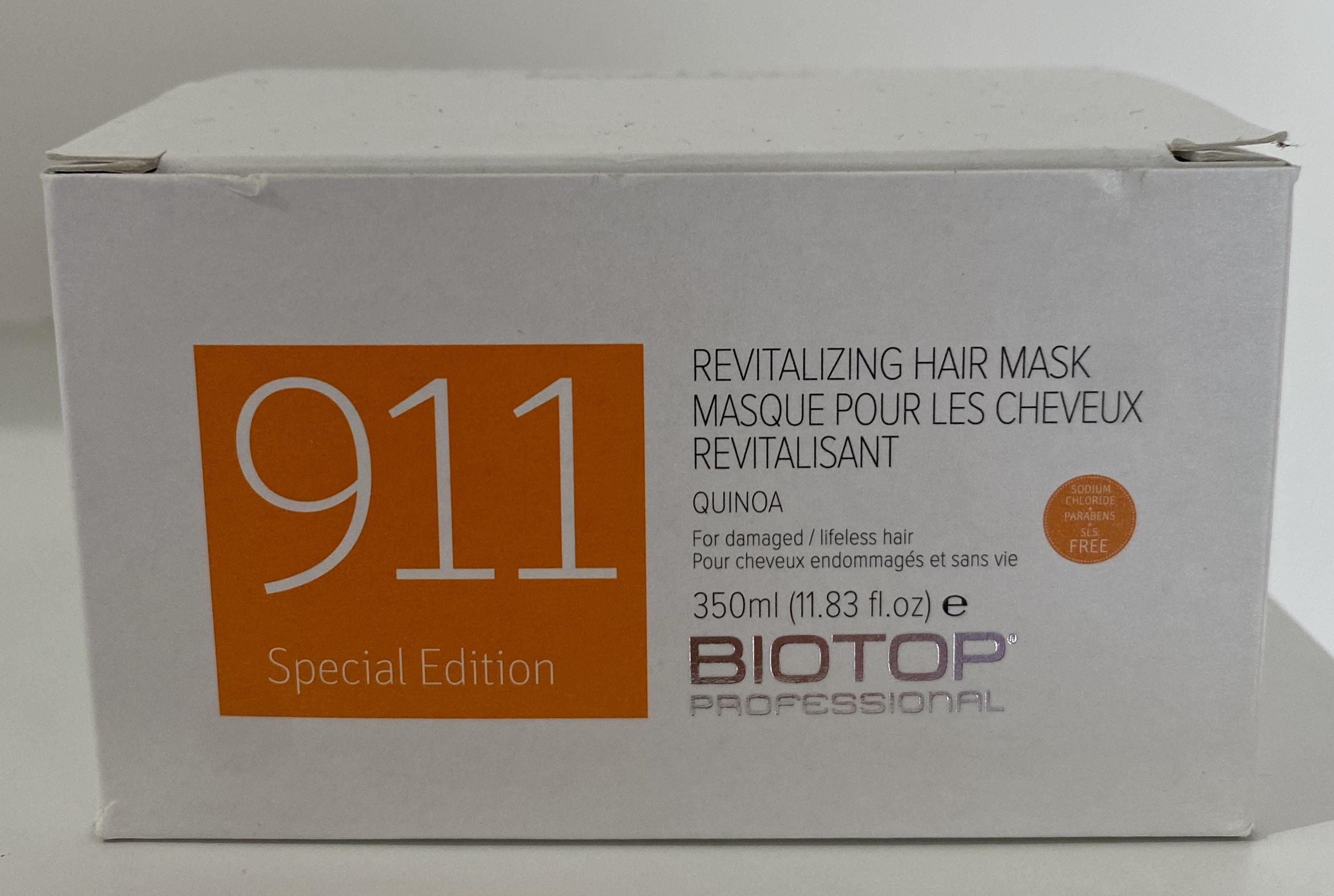 911 Quinoa Hair Mask