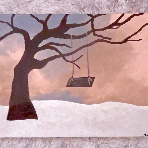 "Fine Art ""Giving Tree"" 16x20"" Painting"