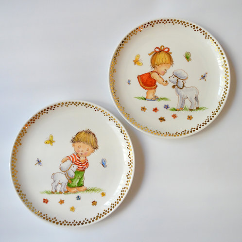 "Fine Porcelain Plate ""Aries"""