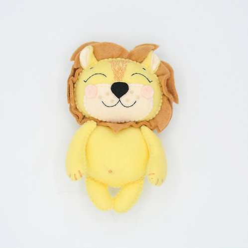 """Felted Toy """"Lion"""""""