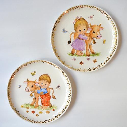 "Fine Porcelain Plate ""Taurus"""