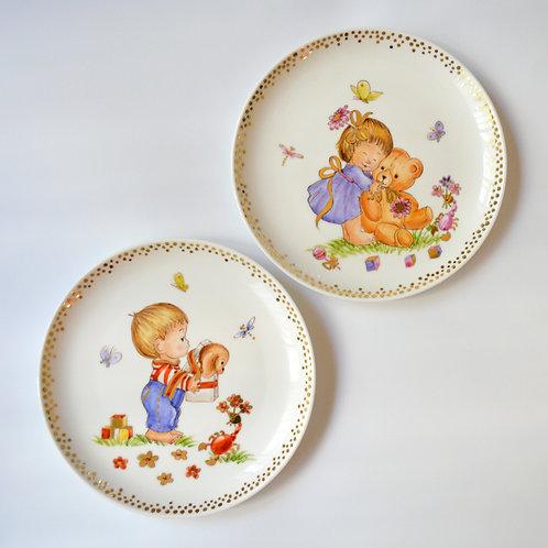 "Fine Porcelain Plate ""Scorpio"""
