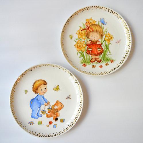 "Fine Porcelain Plate ""Libra"""