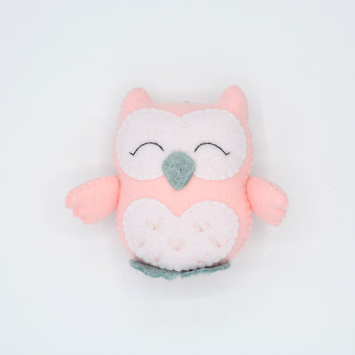 "Felted Toy ""Owl"""