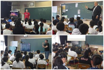 精華小学校 外国文化学習授業への協力