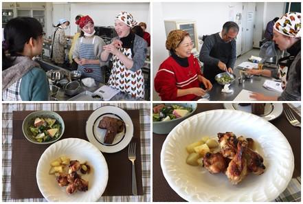 平成30年度 世界の料理講座『Let's cook in English!No.2』を開催しました