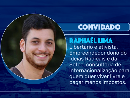 Episódio 148 - Raphaël Lima | residência digital e teoria das bandeiras
