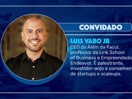 Episódio 142 - Empreendedorismo e desenvolvimento pessoal, com Luis Vabo Jr