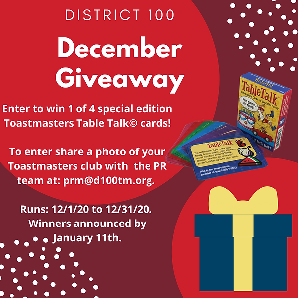 District 100 - December Giveaway (1) (1)