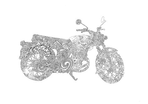 The Motorcycle of the Prima Ballerina
