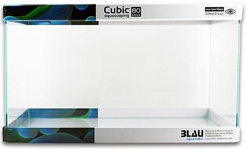 BLAU Aquaristik Cubic-Optiwhite Aquarien
