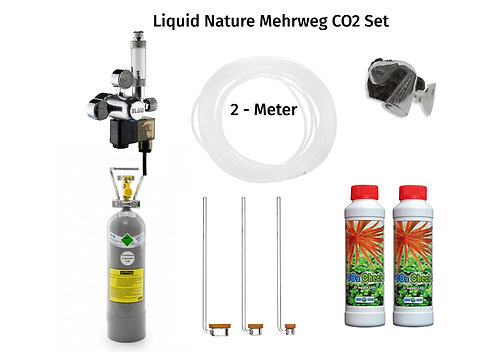 Mehrweg CO2 Set 2000g