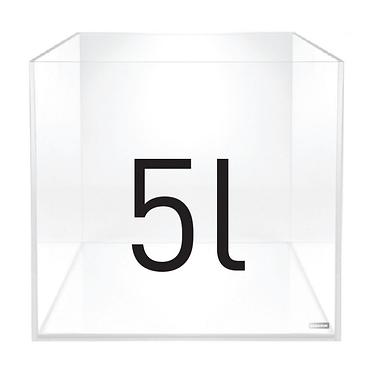 Weißglas Cube - Daquarium