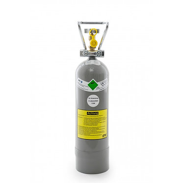 2Kg Co2 Mehrwegflasche aus Stahl