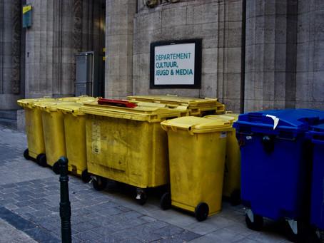 Qual é a importância da etapa de acondicionamento no gerenciamento de resíduos?