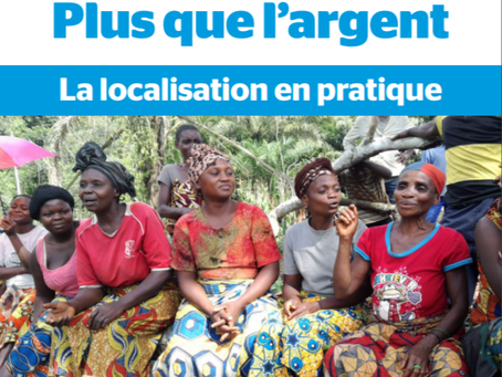 Trocaire - Rapport sur la localisation en RDC et Myanmar