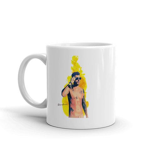 Christian White T White glossy mug