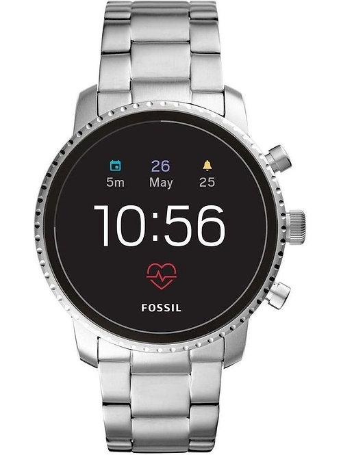 Fossil Explorist Smart Watch Silver
