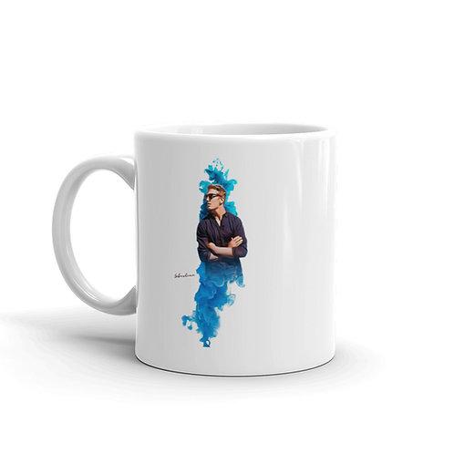 Sebastian White glossy mug