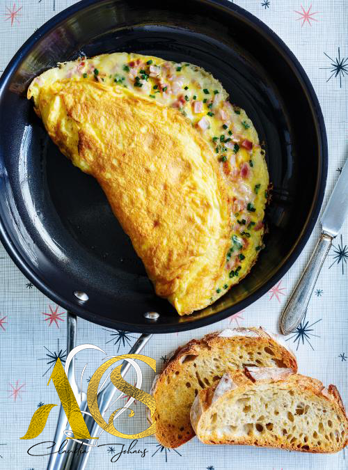 Making omelette without breaking any eggs? Yes, it's possible and it's good!