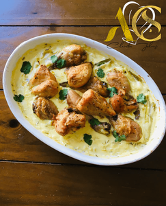 Chicken and lemon sauce