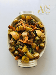 Apples rosemary roast vegetables
