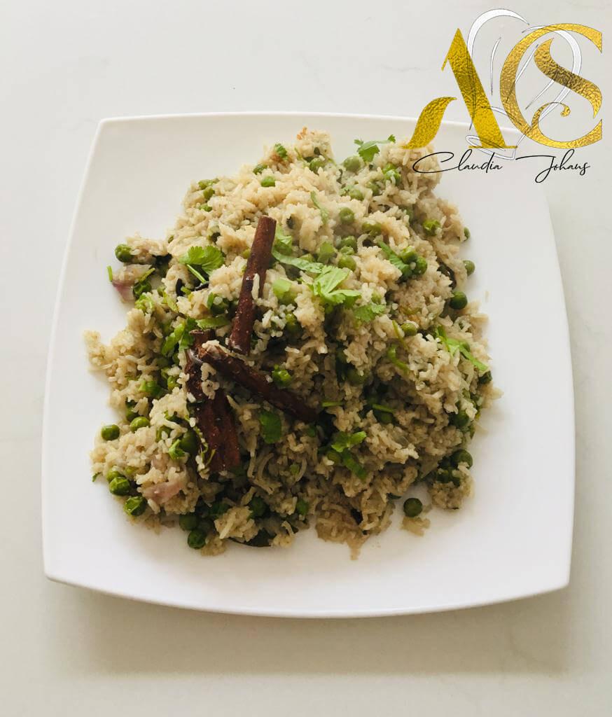Vegetables rice
