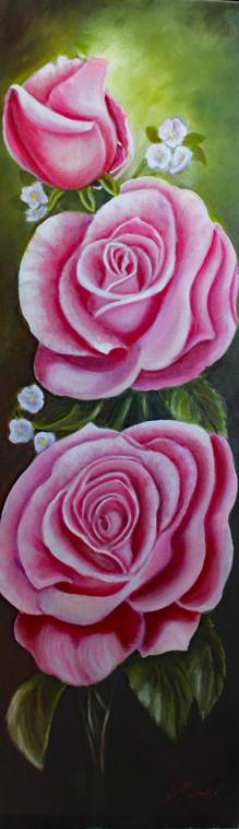 Rose pour Aline