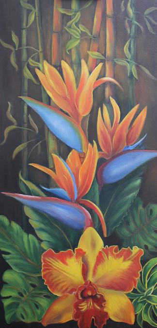 Fleurs tropical