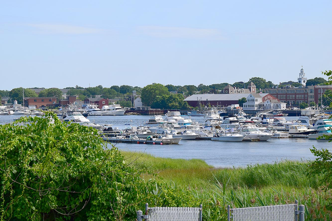 Downtown Newburyport and Harbor