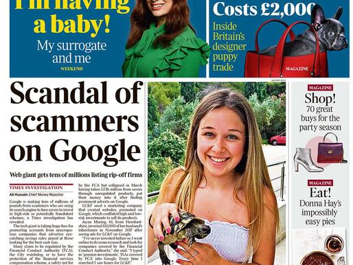 明天頭條》為什麼當詐欺犯得手,連Google也賺錢?