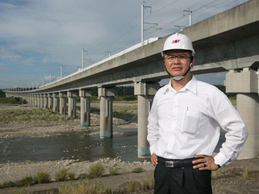 二公分薄膜就能護橋墩 兩岸高鐵都找它