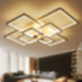Square-Design-Chandeliers-Modern-Led-Cei