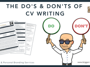 The Do's & Don'ts of CV Writing