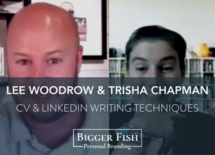 Lee Woodrow Interview with Trisha Chapman - Job Seeker Advice, CV Writing & LinkedIn Optimisation