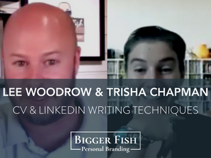 Lee Woodrow Interview with Trisha Chapman - Job Seeker Advice, CV Writing & LinkedIn Optimisation