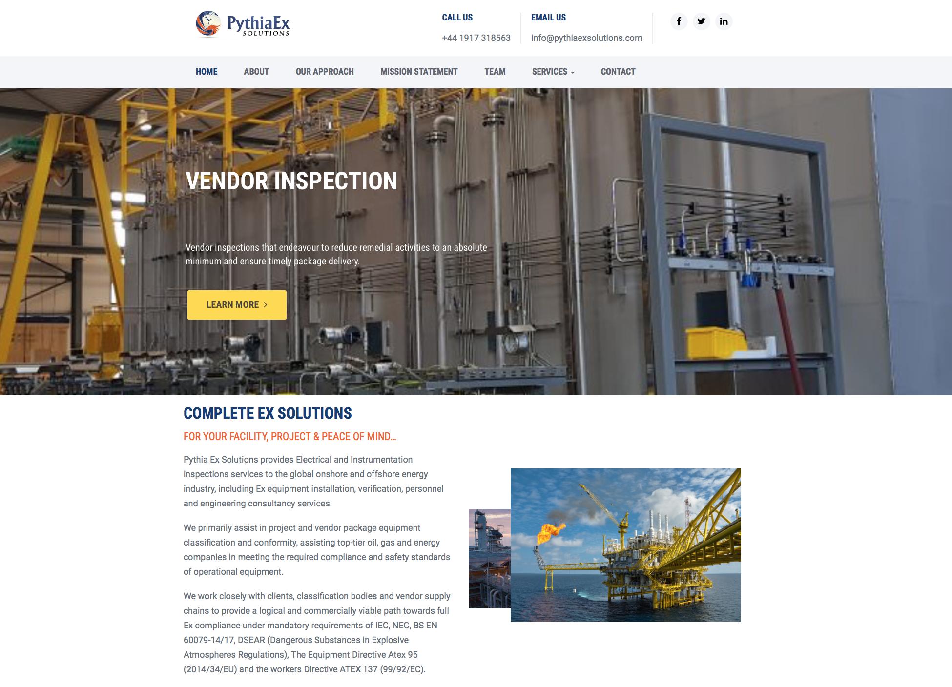 PythiaExSolutions Website