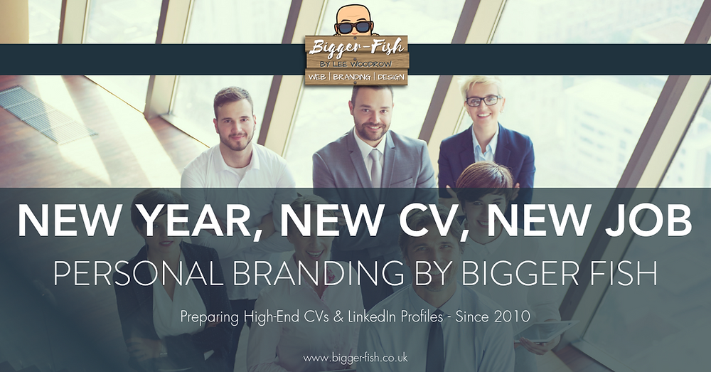 Personal Branding By Bigger Fish - High End CVs & LinkedIn Profiles