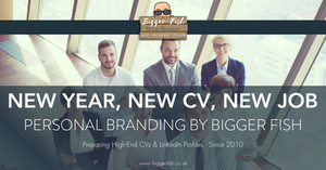 Personal Branding By Bigger Fish - High End CVs & LinkedIn Profiles