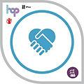 Working in Partnerships HOP Badge