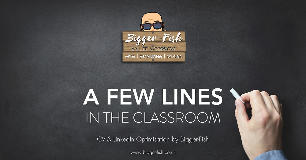 A few lines in the classroom