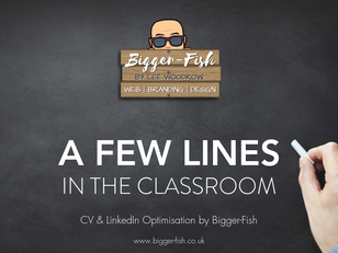 A few lines in the classroom...