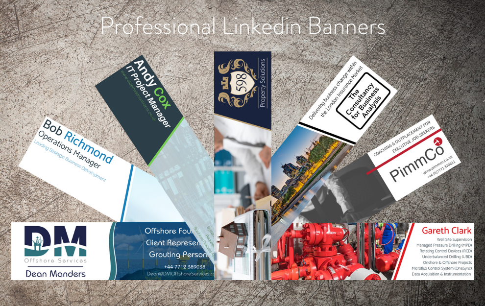 Professional Linkedin Banners by Bigger