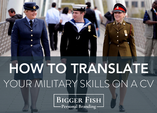 How to Translate your Military Skills on a CV