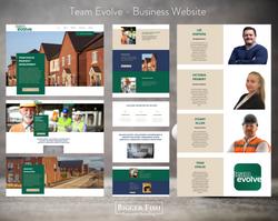 Team Evolve - Business Website by Bigger