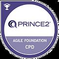 PRINCE 2 Agile Foundation CPD Badge