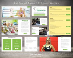 Eat Yourself Colourful - Fitness Website